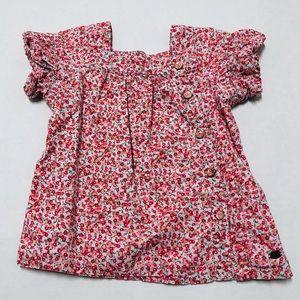 5/$25 Sergent Major girls floral button dress 18 M